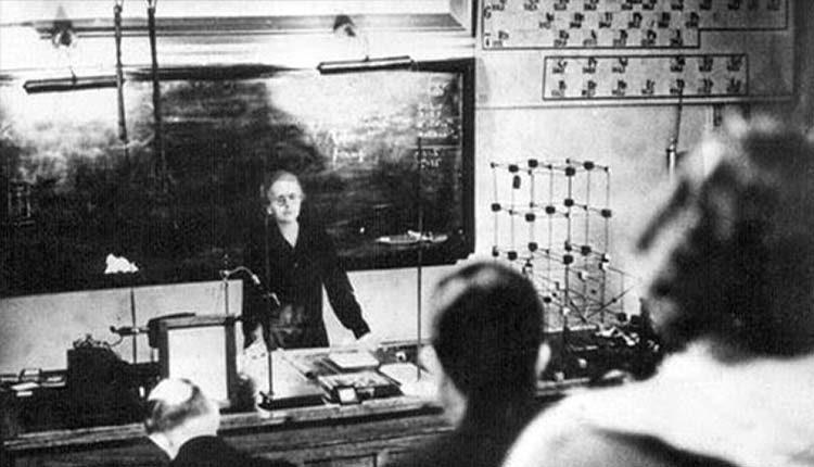 Marie Curie Nobel Ödülü Bilim Kadını